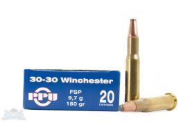 PRVI Partizan 30-30 150gr FSP Ammunition 20rds - PP3.31
