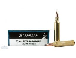 Federal 7mm Remington Magnum Ammo