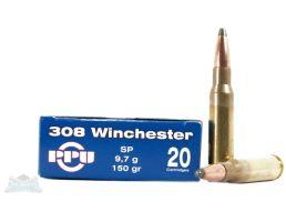 PRVI Partizan 308 Wichester 150gr SP Ammunition 20rds - PP3.25