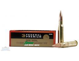 Federal .308 175 GR Ammo