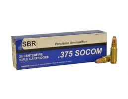 SBR .357 SOCOM 250 gr Barnes TTSX 20 Rounds Ammunition - SL3752