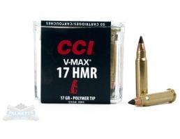 CCI .17 HMR 17gr V-Max Ammunition 50rds - 0049