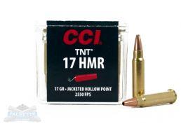 CCI .17 HMR 17gr TNT HP Ammunition 50rds- - -0053