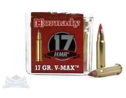 Hornady .17 HMR 17gr V-MAX Varmint Express Rimfire Ammunition 50rds - 83170