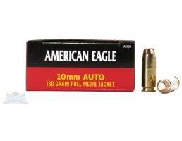 American Eagle 10mm Auto 180gr FMJAmmunition 50rds - AE10A