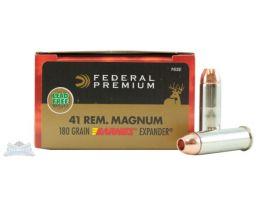 Federal 41 Magnum 180gr Barnes Expander Vital-Shok Ammunition 20rds - P41XB1