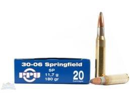 PRVI Partizan 30-06 180gr SP Ammunition 20rd - PP3.43
