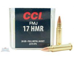 CCI .17 HMR 20gr FMJ Ammunition 50rds - 0055