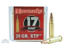 Hornady 17 HMR 20gr XTP Rimfire Varmint Express Ammunition 50rds - 83172