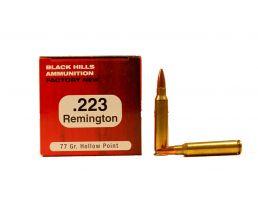 Black Hills 223 Remington 77gr Sierra Match King Hollow Point Ammunition 50rds- M223N9