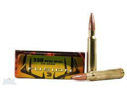 Federal 338 Winchester Magnum 225gr Fusion Ammunition 20rds - F338FS1