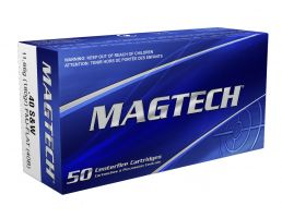Magtech 40 S&W 180gr FMJ Ammunition 50rds - 40B