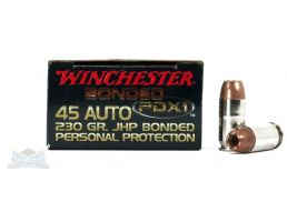 Winchester 45 Auto/ACP 230gr PDX1 Ammunition 20rds - S45PDB