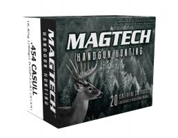 Magtech 454 Casull 260gr SJSP FP Ammunition 20rds - 454A