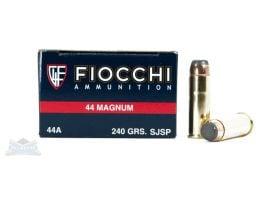 Fiocchi 44 Magnum 240gr SJSP  Ammunition 50rd - 44A