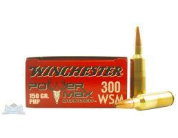 Winchester 300 WSM 150gr PowerMax Bonded Ammunition 20rds - X300SBP