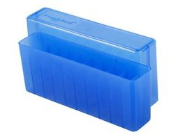 Frankford Arsenal 20-Round Slip Top Ammo Box 210 Blue 184625