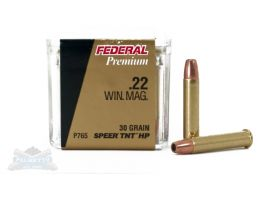 Federal 22 WMR 30gr TNTHP V-Shok Ammunition 50rds - P765