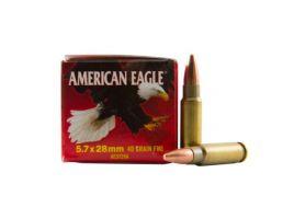 American Eagle 5.7x28mm 40gr FMJ Ammunition 50rds - AE5728A