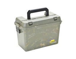 Plano Synergy Water-Resistant Portable Element-Proof Field Ammo Box w/ Tray, Camo Swirl - 161200
