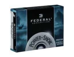 "Federal 10ga 3.5"" Magnum 1.75oz HP Power-Shok Rifled Slug Shotshell Ammunition 5rds - F103F RS"