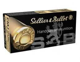 Sellier & Bellot 32 Auto/ACP (7.65 Browning) 73gr FMJ Ammunition 50r - SB32A