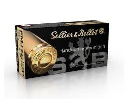 Sellier & Bellot 9mm 115gr FMJ Ammunition 50rds - SB9A