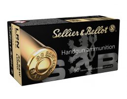 Sellier & Bellot 32 S&W Long 100gr LRN Ammunition 50rds - SB32SWLA