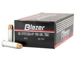 CCI Blazer 38 Special 158gr FMJ Aluminum Cased Ammunition 50rds - 3519