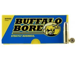 Buffalo Bore 458 SOCOM 400 grain Jacketed Flat Nose Rifle Ammo, 20/Box - 47D/20