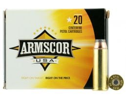 Armscor 240 gr Jacketed Hollow Point .44 Mag Ammo, 20/box - FAC44M2N