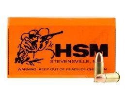HSM 9mm 115gr PRN Ammunition Re-Manufactured 50rds - HSM-9mm-2R