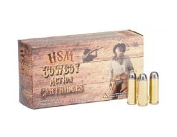 HSM 44 Magnum 240gr SWC-H Ammunition New Manufactured Cowboy Action 50rds - HSM-44M-1-N