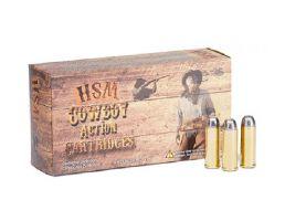 HSM 45-70 Gov't 405gr RNFP Ammunition New Manufactured Cowboy Action  20rds - HSM-45-70-2-N