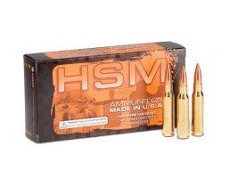 HSM 300 AAC Blackout 220gr SMK HPBT Sub-Sonic Ammunition New Manufactured 20rds - HSM-300BLK-4-N