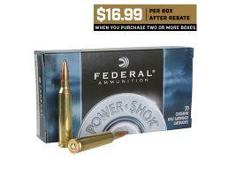 Federal 7mm Remington Magnum 175 Grain SP Power-Shok Ammunition 20rds -7RB