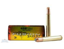 Federal 458 Lott 500gr Fusion Ammunition 20rds - F458LFS1