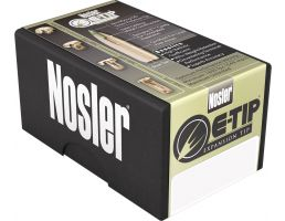 Nosler 243 Win 90 grain Expansion Tip Lead-Free Rifle Ammo, 20/Box - 40030
