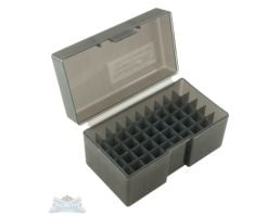 Frankford Arsenal 509 Plastic Ammo Box 243-308 Gray 50rd 122804