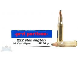 Prvi Partizan .222 Remington Ammo