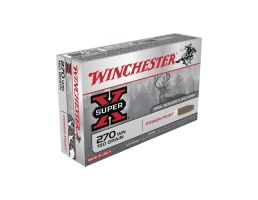 Winchester Super-X .270 Winchester 150 Grain Centerfire Rifle Ammunition, 20rds