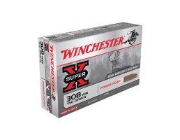 Winchester Super-X .308 Winchester 150 Grain Centerfire Rifle Ammunition, 20rds