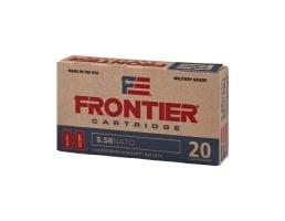 Hornady T2 Frontier 5.56 NATO 75 Grain BTHP Match Ammunition, 20rds