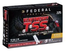 """Federal HEAVYWEIGHT TSS, 12ga ,3"""", 1 3/4oz, #9 ,Turkey Load-PTSSX193F 7"""