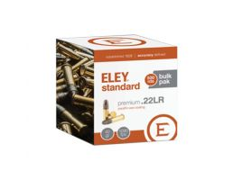 ELEY Standard Premium .22LR 500 Round Bulk Pak of Ammunition - 07100