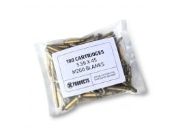 X-Products M200 Mil-Spec 5.56 Blanks For Can Cannon 100pk - XAM-M200BLNK-100