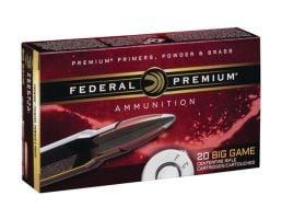 Federal 6.5 Creedmoor 140gr Nosler Accubond Rifle Ammunition, 20 Rounds - P65CRDA1