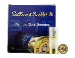 "Sellier & Bellot 12ga 2.75"" 1oz Lead Rifled Slug Shotshell Ammunition, 25 Rounds - SB12SLUG"
