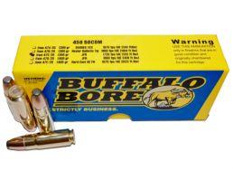 Buffalo Bore .458 Socom 350 gr JFN 20 Rounds Ammunition - 47C/20