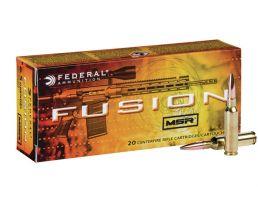 Federal Fusion MSR 6.5 Grendel 120 gr Soft Point 20 Rounds Ammunition - F65GDLMSR1